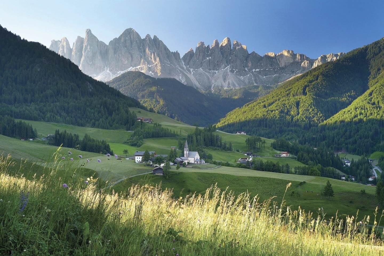 Urlaub in Südtirol mit PaulisPlaces: Morgenstimmung in Villnöss