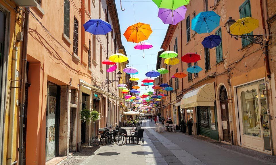 Ferrara - Eine Portion italienischen Charmes